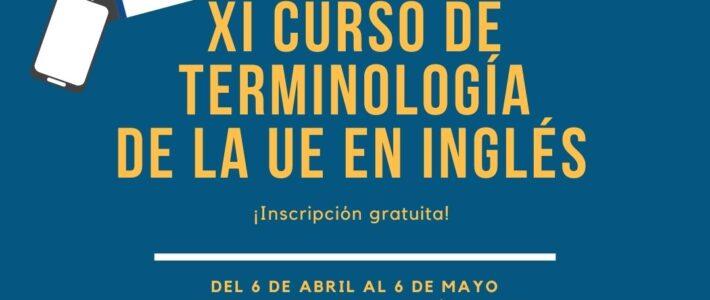 XI Curso gratuito de Terminología de la UE en Inglés