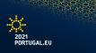 Logo Presidencia portuguesa UE
